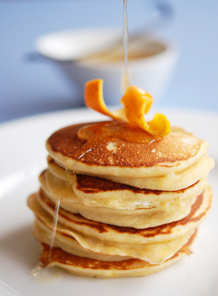 Orange-Ricotta-Hotcakes