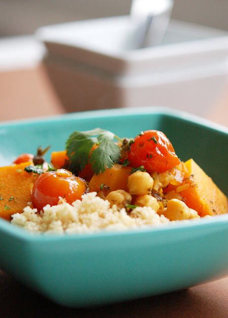 Taste of Morocco - Butternut Squash and Chickpea Tagine