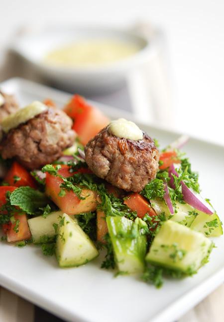 Lamb-Kofta-Salad