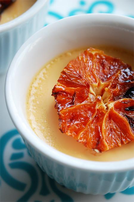Cardamom-Orange-Custard