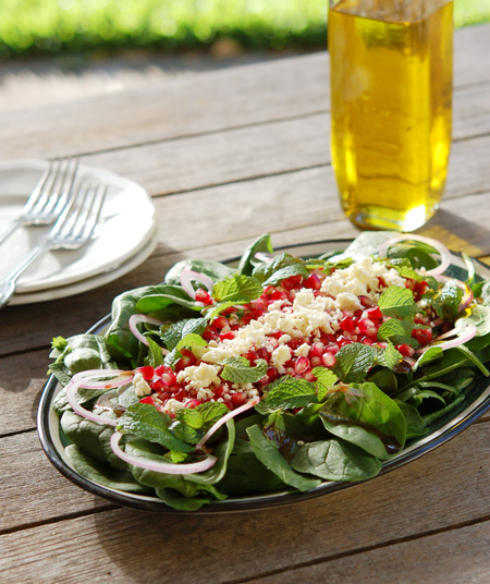 Pomegranate_Spinach_Salad