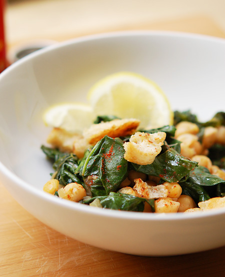 Silverbeet-Chickpeas