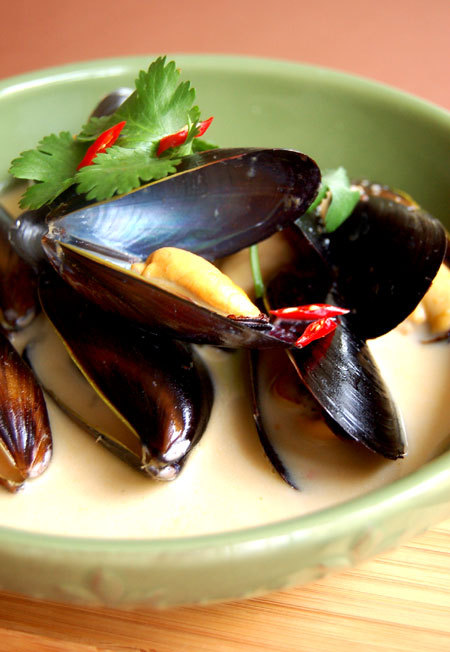Steamedmussels